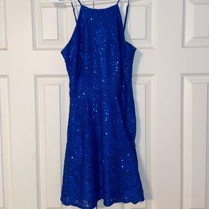 Stunning Sparkly Blue Dress